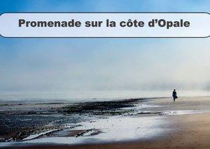 Promenade sur la Côte d'Opale (Livre poster DIN A3 horizontal)