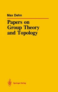 Papers on Group Theory and Topology