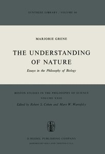 The Understanding of Nature