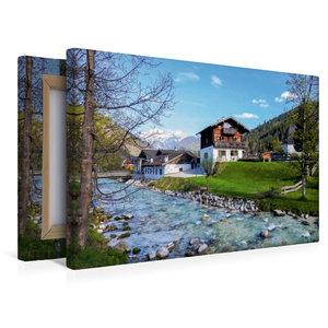 Premium Textil-Leinwand 45 cm x 30 cm quer Ramsau, Berchtesgaden