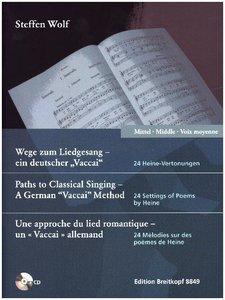 Wege zum Liedgesang - ein deutscher 'Vaccai'. Mittlere Stimme