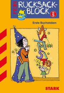 Rucksackblock Vorschule Zauberer