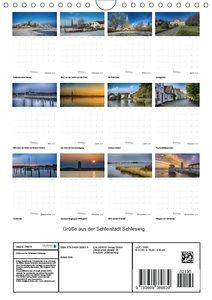 Grüße aus der Schleistadt Schleswig (Wandkalender 2018 DIN A4 ho