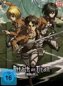 Attack on Titan - DVD 4 - LE Digipack ohne Aufnäh.