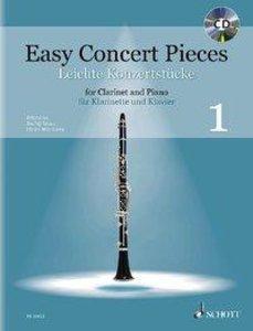 Easy Concert Pieces Band 1. Klarinette und Klavier. Ausgabe mit