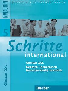 Schritte international 5. Glossar XXL Deutsch-Tschechisch