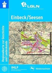 Einbeck / Seesen Regionalkarte zur Geschichte und Landeskunde 1