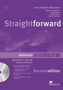 Straightforward Advanced. Teacher's Book with Resource DVD-ROM a