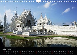 Der Weiße Tempel in Thailand Wat Rong Khun