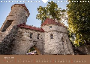 Tallinn - Streifzug durch die Altstadt (Wandkalender 2020 DIN A4
