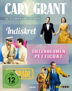 Cary Grant Gentleman Collection/Blu-ray
