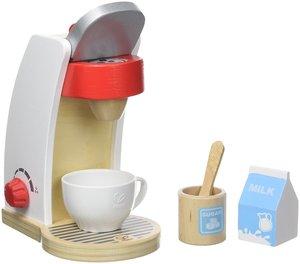 Hape E3146 Kaffeemaschine, weiß