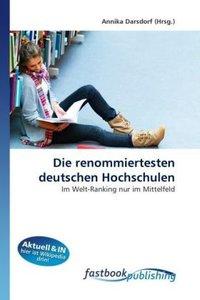 Die renommiertesten deutschen Hochschulen