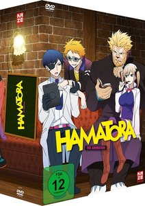 Hamatora - DVD Vol. 1 + Sammelschuber + Manga Band 1
