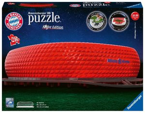Night Edition 3D - Allianz Arena bei Nacht
