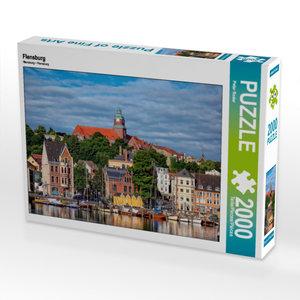 CALVENDO Puzzle Flensburg 2000 Teile Lege-Größe 90 x 67 cm Foto-