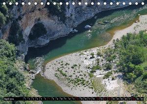 Ardèche, Grand Canyon Europas (Tischkalender 2019 DIN A5 quer)