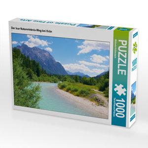 CALVENDO Puzzle Der Isar Naturerlebnis-Weg bei Krün 1000 Teile L