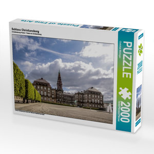 Schloss Christiansborg 2000 Teile Puzzle quer