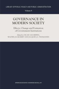 Governance in Modern Society