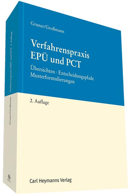Verfahrenspraxis EPÜ und PCT - zum Schließen ins Bild klicken
