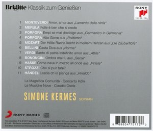 Brigitte Klassik zum Genießen: Simone Kermes