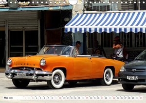 Lincoln Capri - Edelkarosse der Fünfziger Jahre (Wandkalender 20