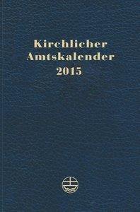 Kirchlicher Amtskalender 2015 blau