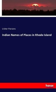Indian Names of Places in Rhode Island