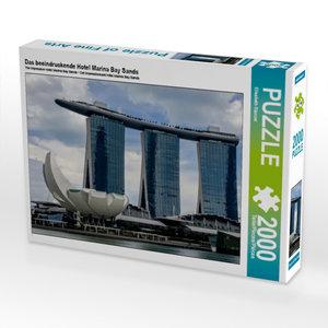 CALVENDO Puzzle Das beeindruckende Hotel Marina Bay Sands 2000 T