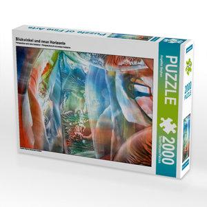 Blickwinkel und neue Horizonte 2000 Teile Puzzle quer