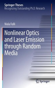 Nonlinear Optics and Laser Emission through Random Media