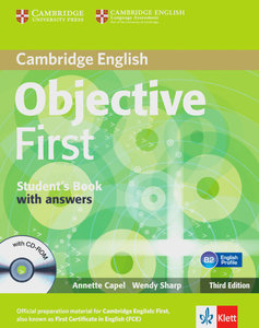 Objective First. Student's book with answers and CD-ROM