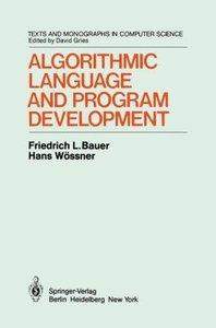 Algorithmic Language and Program Development