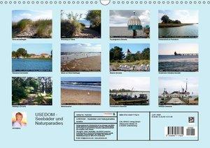 USEDOM - Seeb?der und Naturparadies (Wandkalender 2019 DIN A3 qu