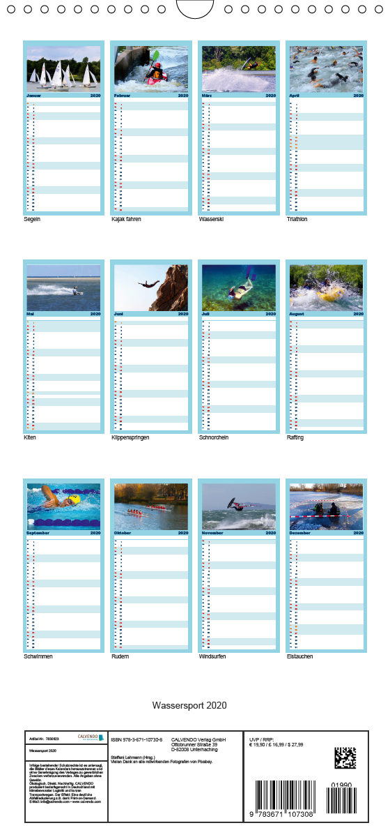 Wassersport 2020. Impressionen am, im, auf und unter Wasser - Fa - zum Schließen ins Bild klicken