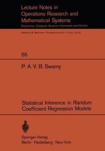 Statistical Inference in Random Coefficient Regression Models