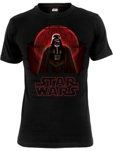 Darth Vader-Death Star (Shirt L/Black)