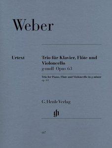 Trio für Klavier, Flöte und Violoncello in g-moll op. 63