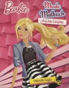 Barbie: Mode Malbuch: Auf dem Laufsteg