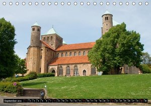 Hildesheimer Ansichten (Tischkalender 2019 DIN A5 quer)