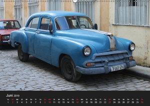 Oldtimerträume auf KUBA (Wandkalender 2019 DIN A2 quer)