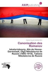 CANONISATION DES ROMANOV