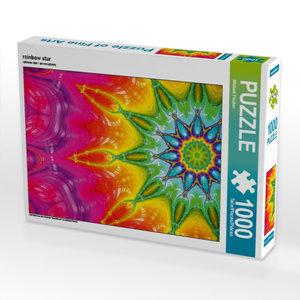 rainbow star 1000 Teile Puzzle quer