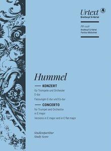 Konzert für Trompete und Orchester E-Dur/Es-Dur (Trompetenkonzer