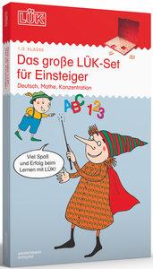 LÜK. Das große Kennenlern-Set: Deutsch, Mathe, Konzentration für
