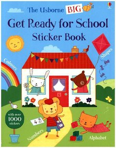 Big Get Ready for School Sticker Book