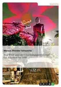 José Rizal und der Unabhängigkeitskampf der Filipinos bis 1896