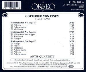 Streichquartette 1 op.45/3 op.56/5 op.87