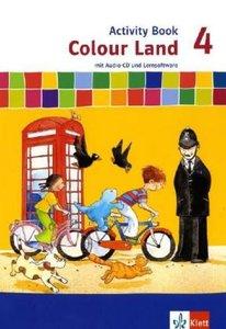 Colour Land ab Klasse 3. Activity Book 4. Schuljahr. Neubearbeit
